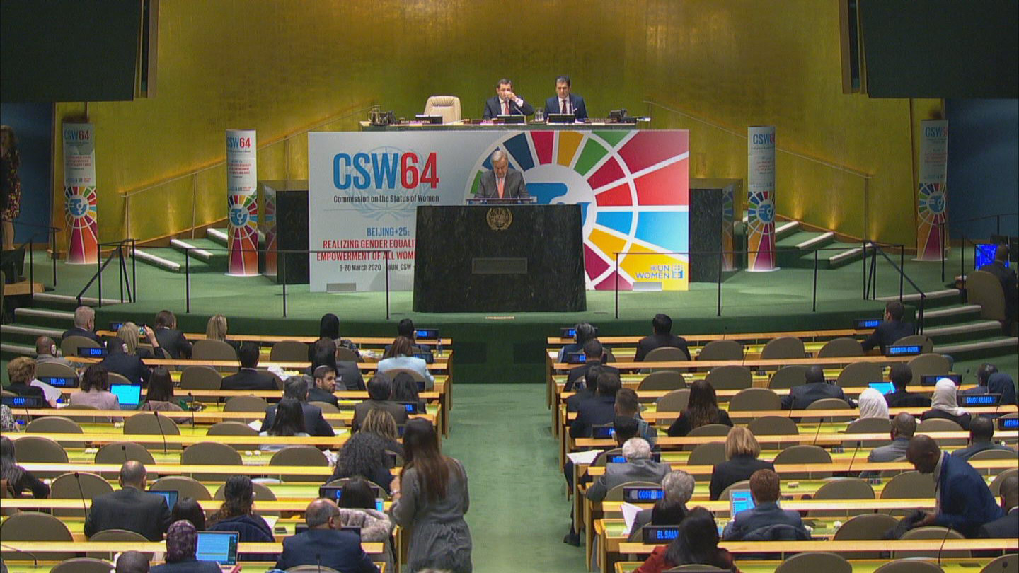 UN  CSW OPENING