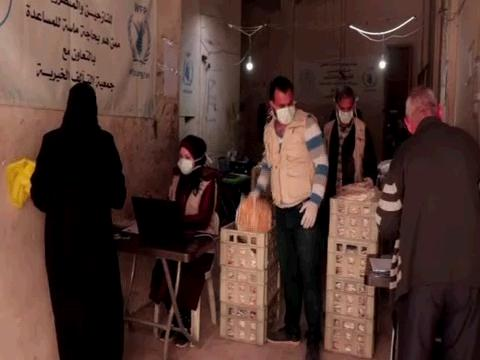 WFP / SYRIA COVID-19 PREVENTION MEASURES