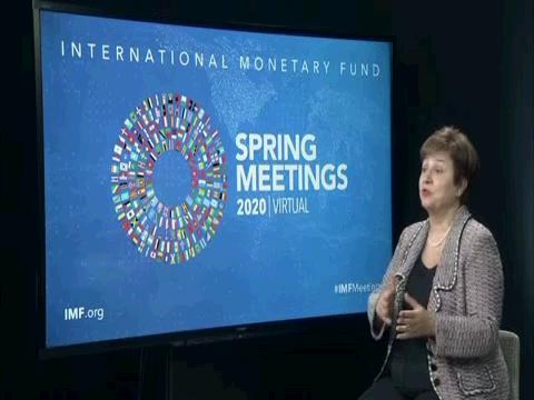 IMF  GEORGIEVA ECONOMIC OUTLOOK PREVIEW
