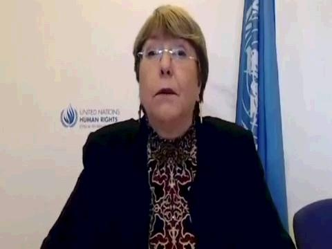 OHCHR  BACHELET CALL FOR ACTION COVID-19