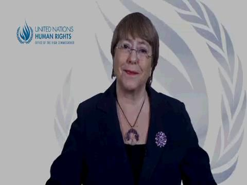 OHCHR  BACHELET COVID-19 HUMAN RIGHTS