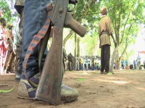 SOUTH SUDAN  FORMER CHILD SOLDIERS