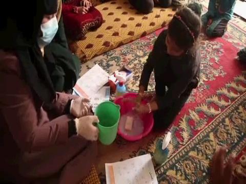 SYRIA  IDLIB DISPLACED VOLUNTEER