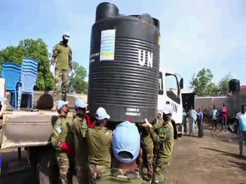 SOUTH SUDAN  COVID-19 WATER TANKS