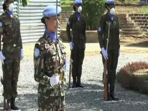 SOUTH SUDAN  UN PEACEKEEPERS DAY