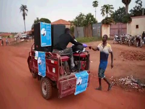 SOUTH SUDAN  TRICYCLE AWARENESS CAMPAIGN