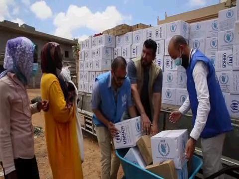 LIBYA  REFUGEES FOOD AID