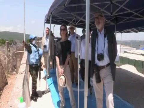 LEBANON  UNIFIL EU AMBASSADORS VISIT