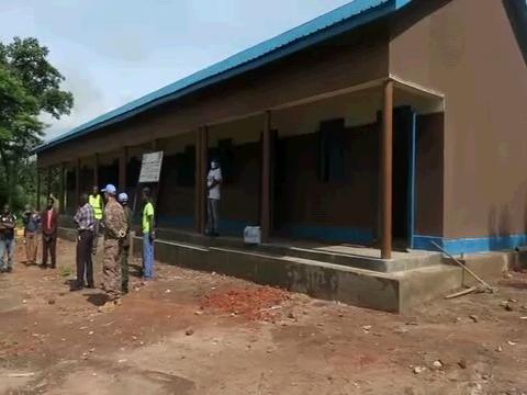 SOUTH SUDAN  YAMBIO NEW SCHOOLS