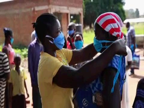 SOUTH SUDAN  COVID-19 FACE MASKS DISTRIBUTION