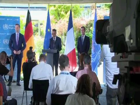 WHO  FRENCH GERMAN HEALTH MINISTERS