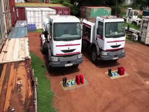SOUTH SUDAN  FIRE TRUCKS DONATION