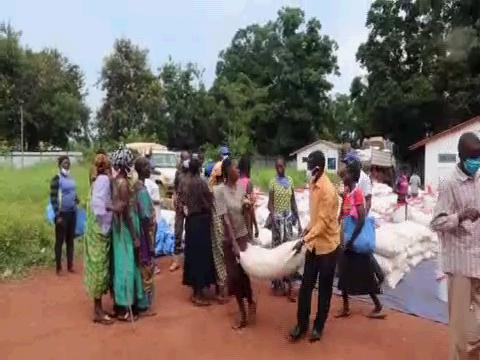 SOUTH SUDAN  TAMBURA FOOD DISTRIBUTION
