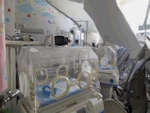BEIRUT  CHILDREN HOSPITAL DESTRUCTION