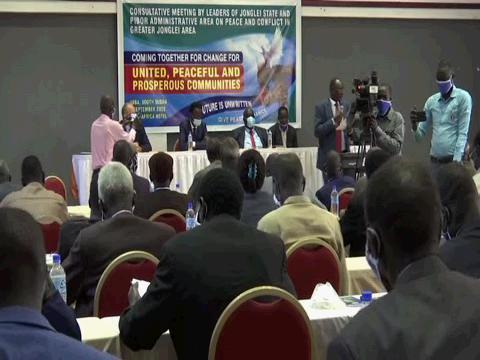 SOUTH SUDAN JONGLEI PEACE CONFERENCE