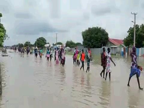 SOUTH SUDAN  JONGLEI FLOODS