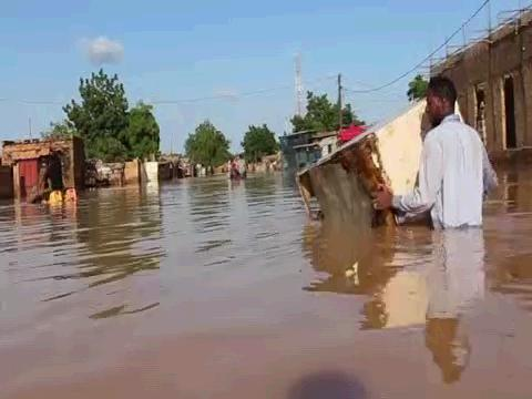 UNHCR  NIGER FLOODS REFUGEES DISPLACED